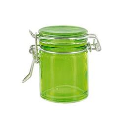 Mini bocal verre vert anis 4,5 cl