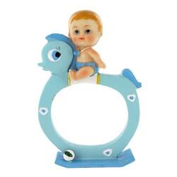 Sujet naissance garçon bleu