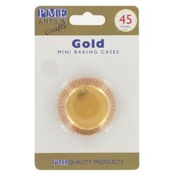 Mini-Caissette aluminium dorée PME (x45)