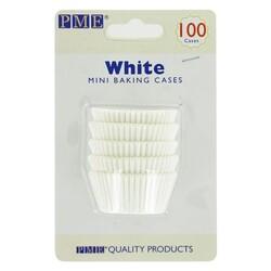 Mini-Caissette cupcake blanche PME (x100)