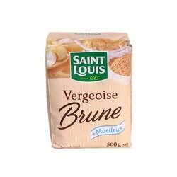 Vergeoise brune Saint-Louis 500 g