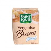 Vergeoise brune Saint-Louis 500 g