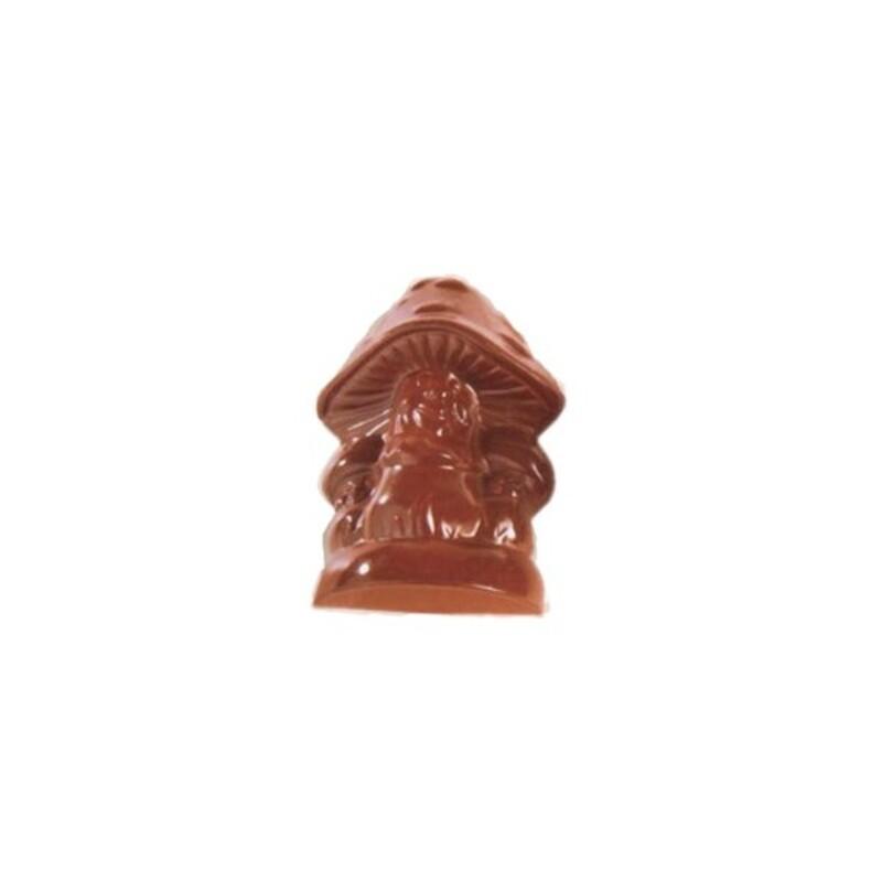 Moule chocolat 1 champignon 24 cm