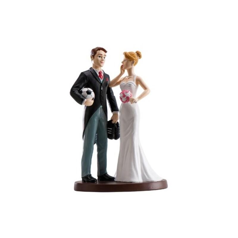 Couple de mariés Football