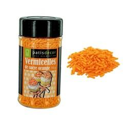 Vermicelles sucre oranges Patisdécor