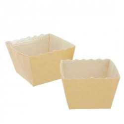 Moule carton Easy Bake carré 4,5 cm (x80)