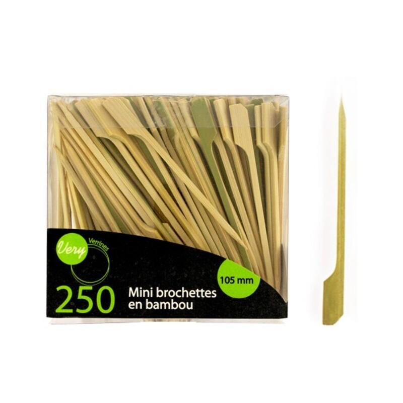 Pic bambou plat 10,5 cm Very Verrines (x250)