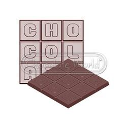 """Moule 2 plaques Chocolat """"Chocolat"""" 75g"""
