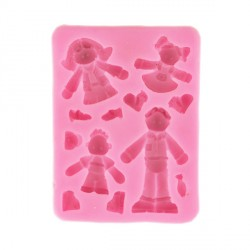 Moule silicone personnages