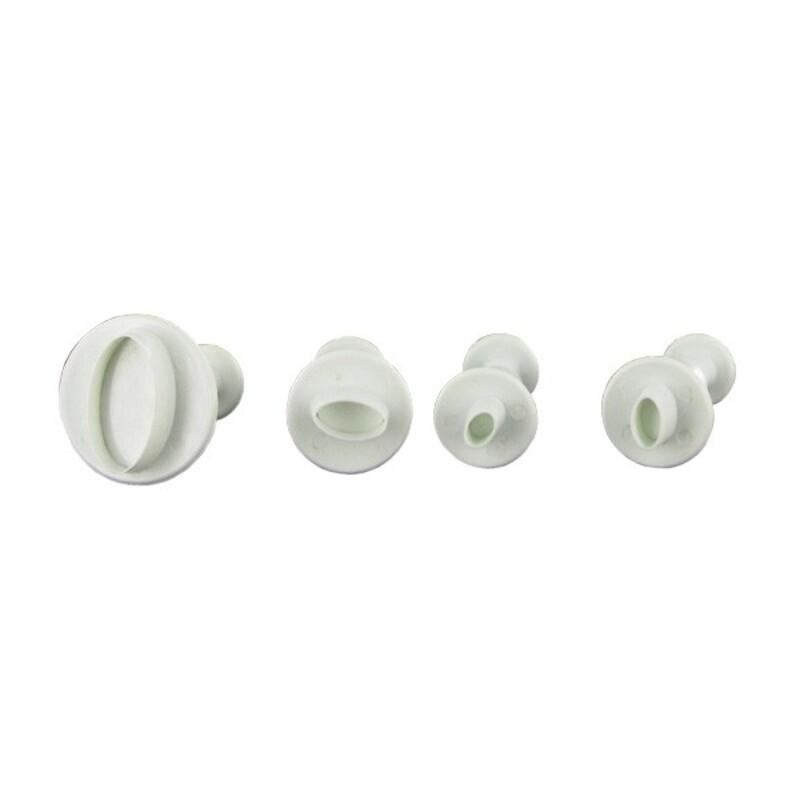 Découpoirs mini-ovalesTechnicake (x4)