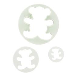 Découpoirs oursons Patisdécor (x3)