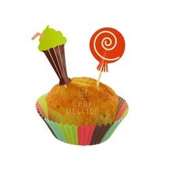 Kit déco cupcakes Sweet Shop Patisdécor