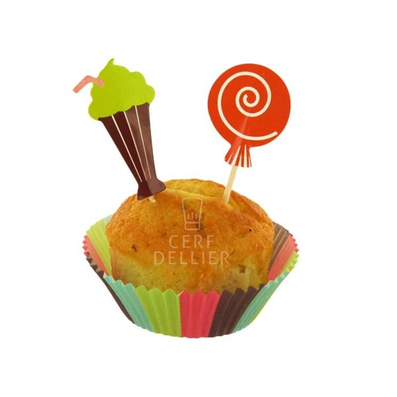 Kit déco cupcakes Sweet Shop Gatodéco