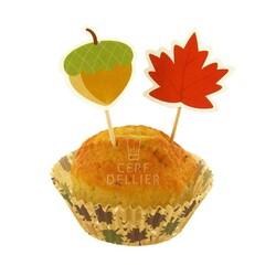 Kit déco cupcakes automne Patisdecor