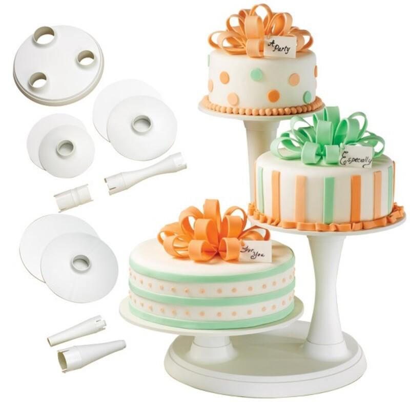 Présentoir gâteaux 3 étages