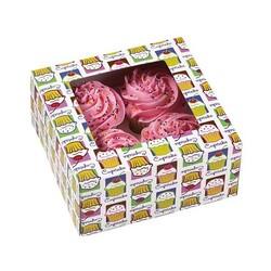 Boîte à 4 cupcakes Heaven Wilton (x3)