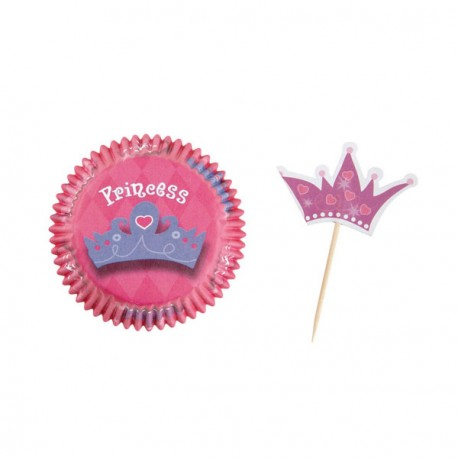 Kit déco cupcakes Pink Party Wilton (x24)