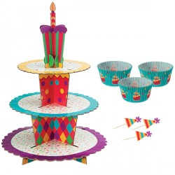 Présentoir cupcakes Celebration Wilton
