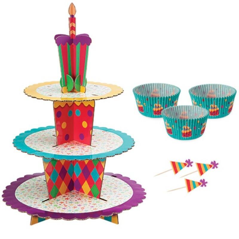 Présentoir cupcakes princesses Wilton