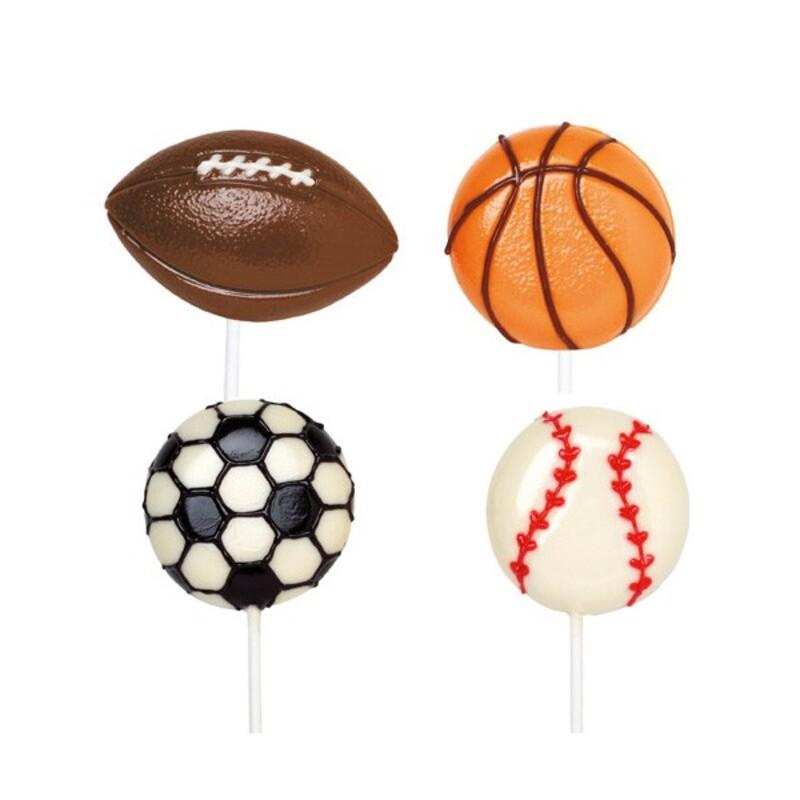 Moule sucettes ballons de sport Wilton