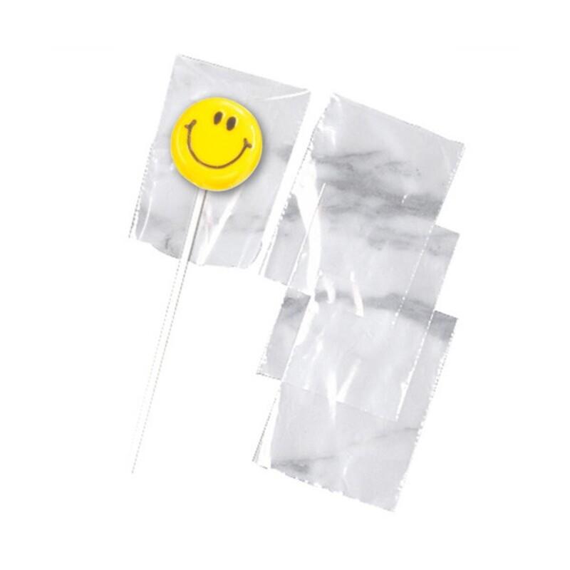Sachets sucettes transparents Wilton (x50)