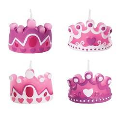Bougies Princesse Wilton (x4)