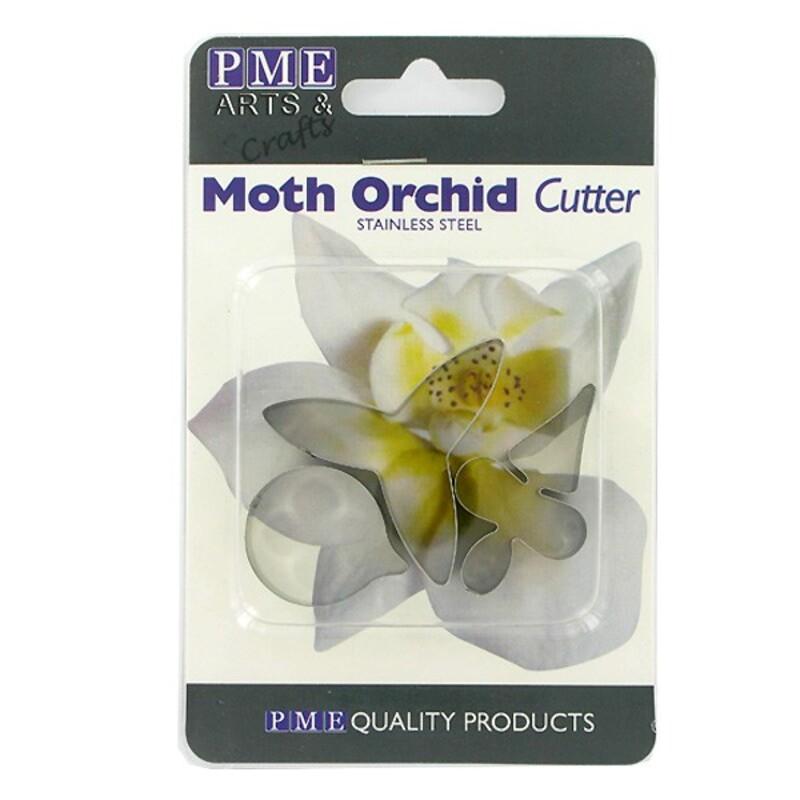 Découpoirs inox pétales orchidée (par3)
