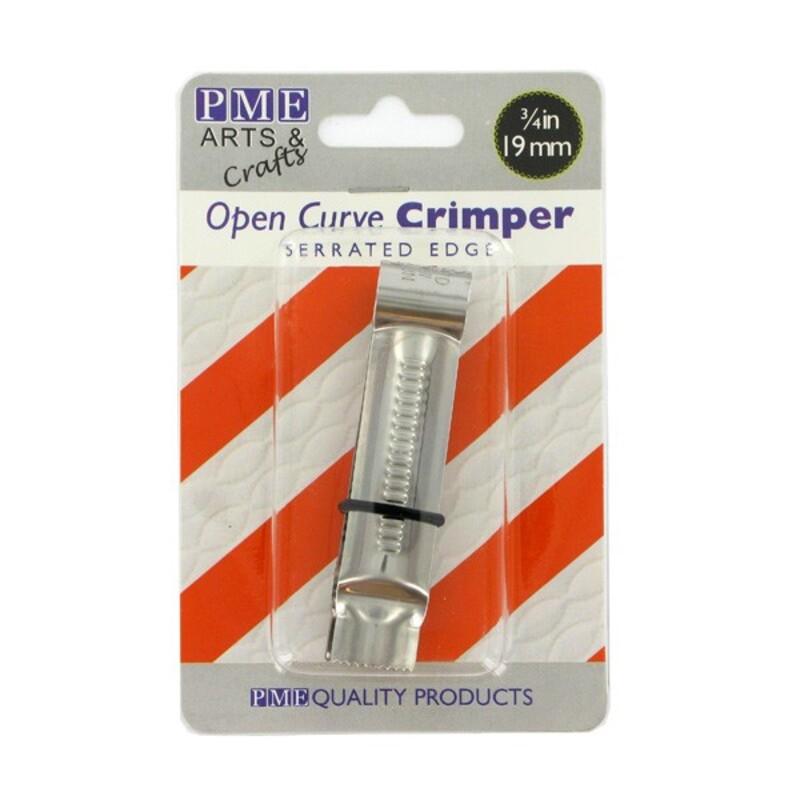 Pince ouverte courbe dentelée 19mm PME