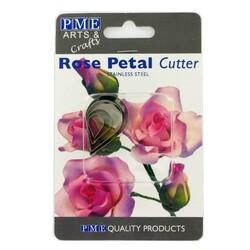 Emporte-pièce inox pétales de roses PME (x4)