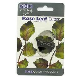 Emporte-pièce inox feuilles de roses PME (x3)