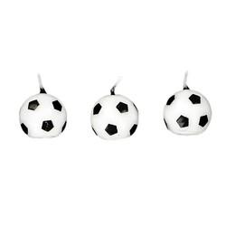 Bougie ballon de football Gatodéco (x 6)