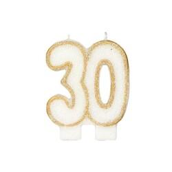 Bougie anniversaire 30 ans Patisdécor