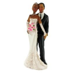 Mariés noirs robe bustier Gatodéco