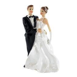 Couple de mariés classique Patisdecor