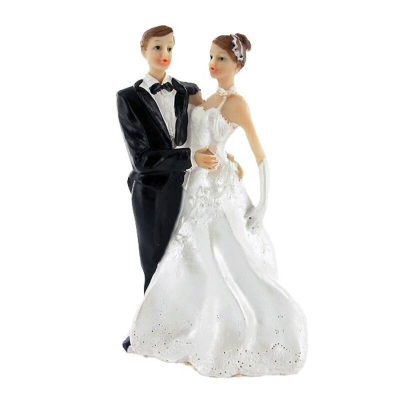 Couple de mariés classique Gatodéco
