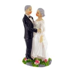 Couple de mariés Noces d'Or Valse