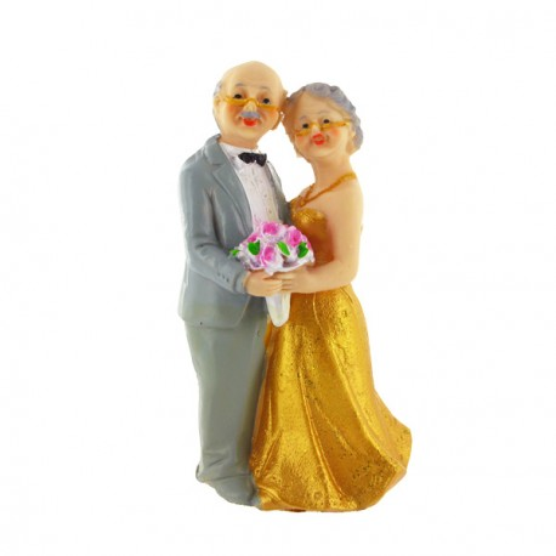 Mariés Noces d'Or A Gatodéco