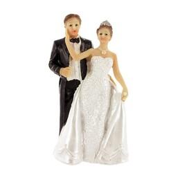 Mariés robe nacrée A Patisdecor