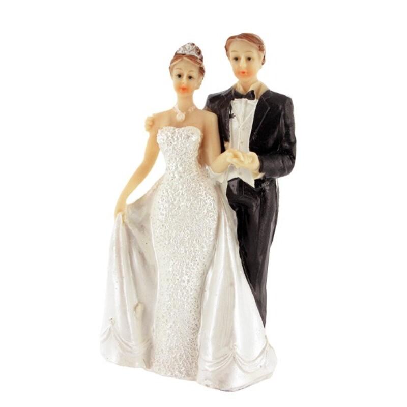 Mariés robe nacrée A Gatodéco