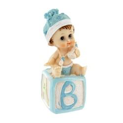 Bébé garçon cube alphabet Patisdecor