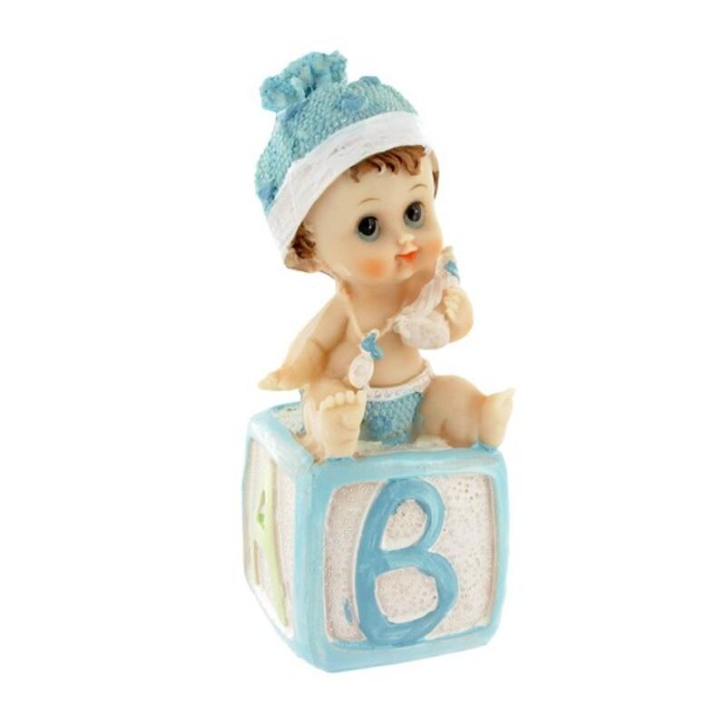 Bébé garçon cube alphabet Gatodéco