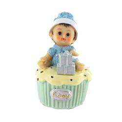 Bébé garçon cupcake Patisdecor