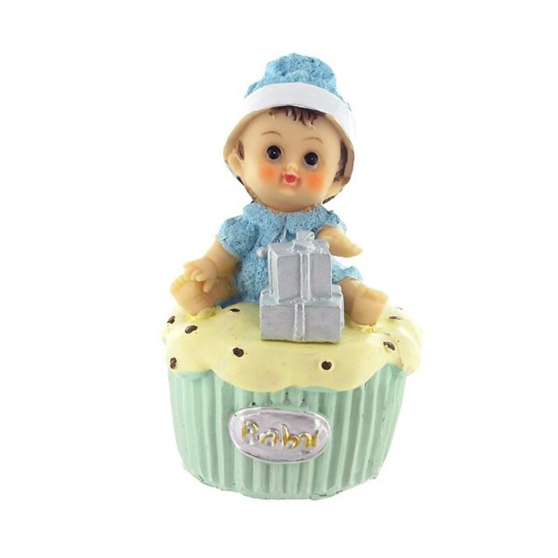 Bébé garçon cupcake Gatodéco