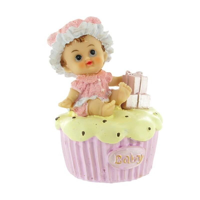 Bébé fille cupcake Gatodéco