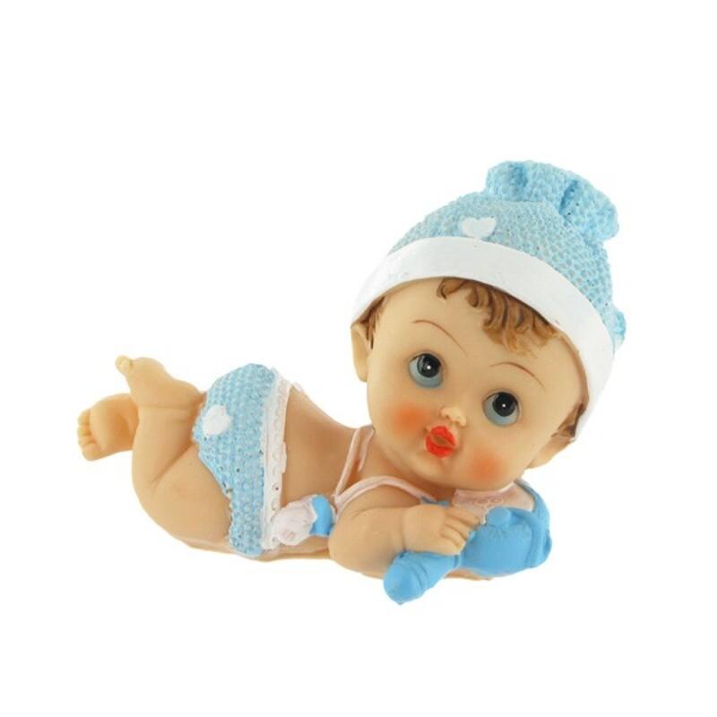 Figurine de bapt me gar on pas cher b b allong cerf dellier - Enfant garcon ...