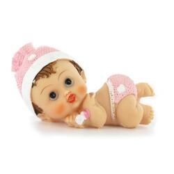 Bébé fille couchée Gatodéco