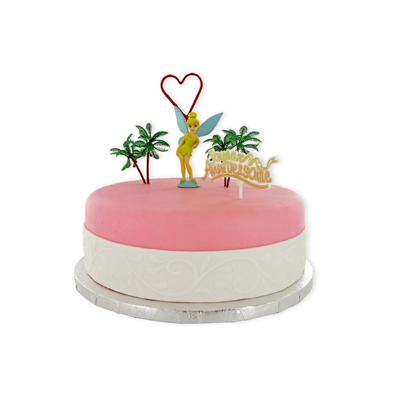 Decoration Fee Clochette Pour Gateau : Kit décor g teau fée clochette peter pan cerf dellier