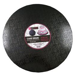 Carton rond noir Patisdecor (pièce)