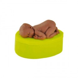 Moule silicone bébé couché