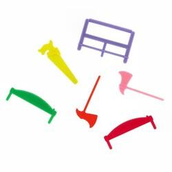 Haches et scies colorées (x300)